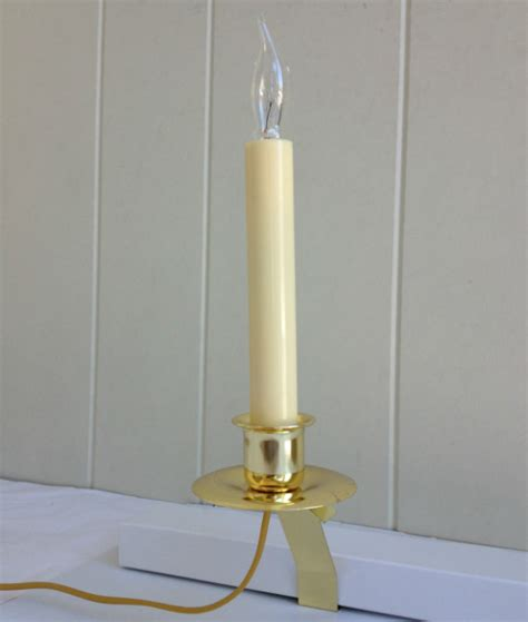 window candle lights with timer window candle cambridge slant bracket electric light