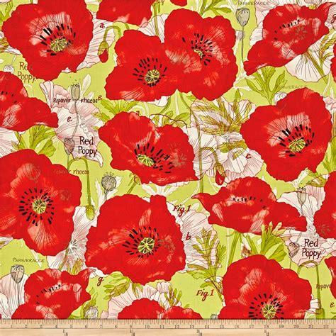 pattern for fabric poppy moda poppy mae poppy leaf discount designer fabric