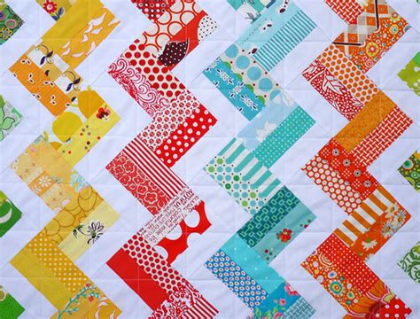 Easy Zig Zag Quilt Pattern by Pepper Quilts Zig Zag Rail Fence Quilt And New Quilt Pattern
