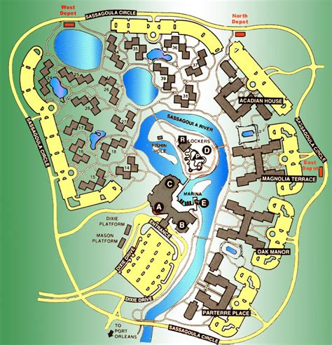 port orleans riverside map riversidemap