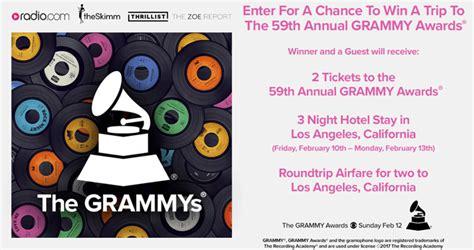 radio com grammys sweepstakes - Radio Com Grammys Sweepstakes