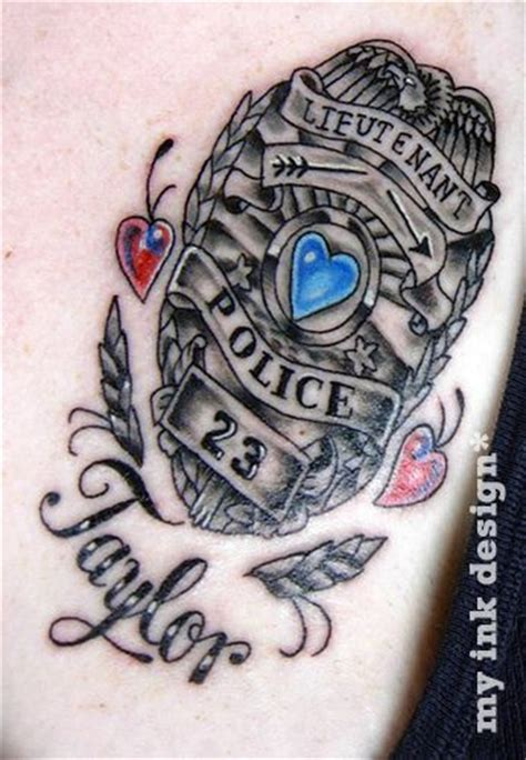 police tattoos designs best 25 enforcement tattoos ideas on