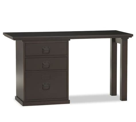 desk with file drawer bedford small desk set pottery barn