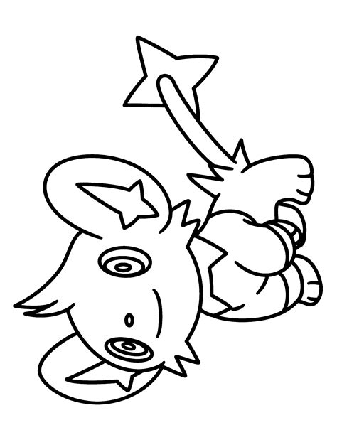 pokemon coloring pages shinx luxio coloring pages coloring pages