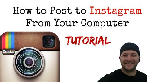 tutorial instagram pc how to post to instagram from your pc computer tutorial