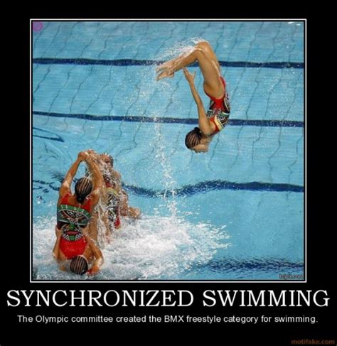 Synchronized Swimming Meme - funny swimming quotes for girls quotesgram