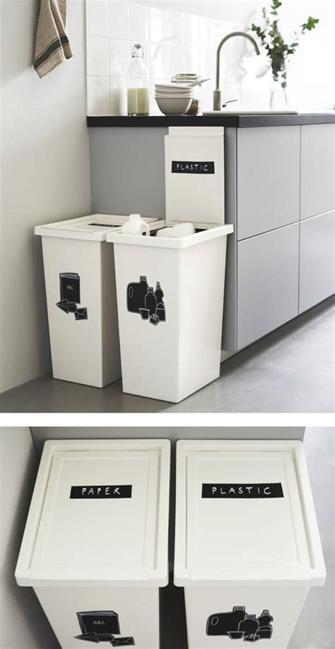 kitchen bin ideas best 25 recycling bins ideas on pinterest recycling