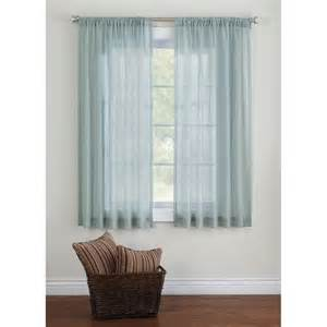 Bedroom Window Curtains Walmart Better Homes And Gardens Elise Woven Stripe Sheer Window