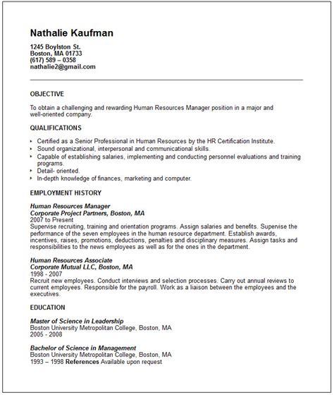 human resources manager resume samples visualcv resume samples