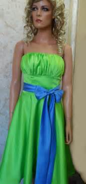 green and blue bridesmaid dresses overlay wedding dresses