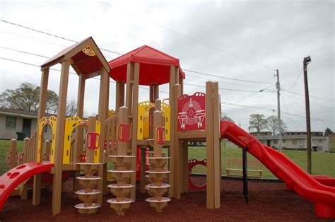 Opelika Housing Authority Section 8 by Another Beautiful Playtopia Play Structure In Opelika