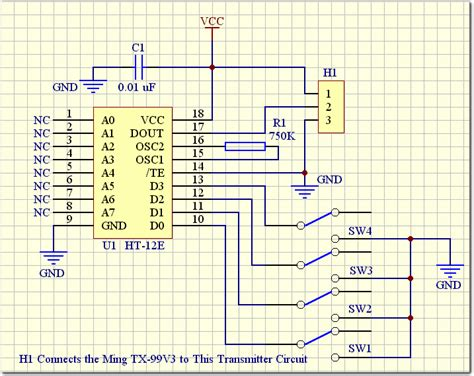 Ht12d using rf modules with ht12e d engineersgarage