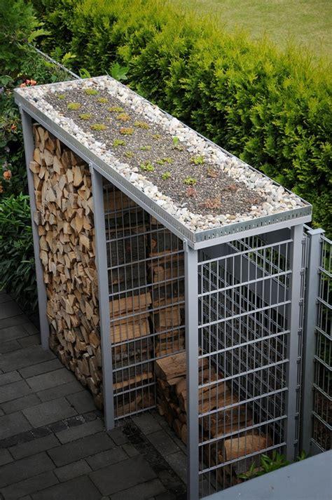 unterstand brennholz draussen daheim gartenbau thorsten thuir castrop