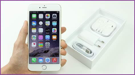apple iphone 6 plus d 233 ballage et premi 232 re prise en unboxing fran 231 ais