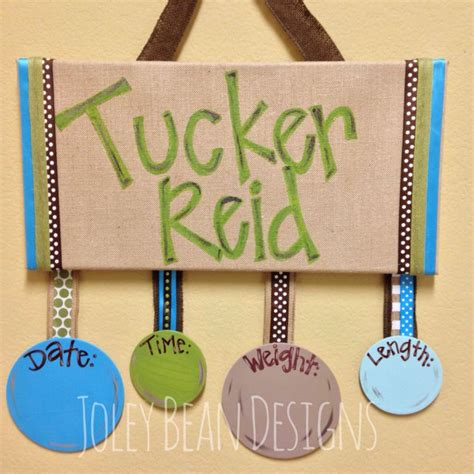 baby boy hospital door hanger baby ideas