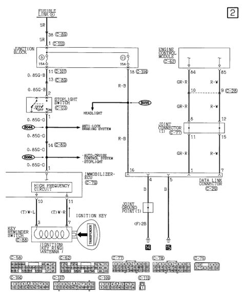 diagram for 02 eclipse gt distributor diagram free