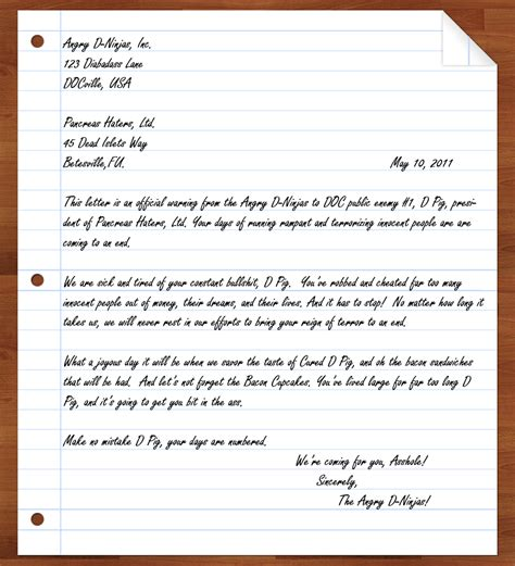 Letter Conclusion My Diabetic An Angry Letter To D Pig Dbw Day 2