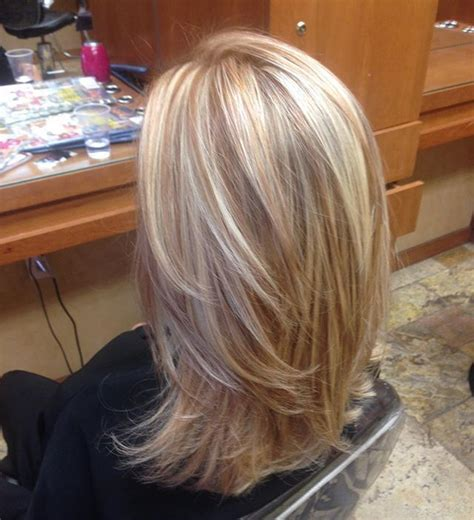 medium length hair style low lights 25 best ideas about blonde highlights on pinterest