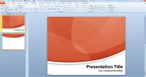How To Choose A Powerpoint Template For Presentations Design Powerpoint 2013