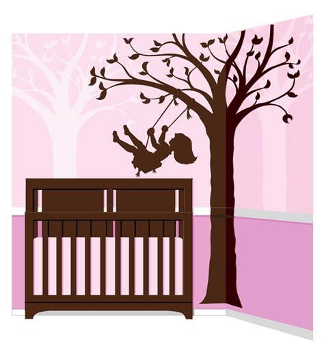 how to paint a wall mural in a bedroom silhouette swing paint by number wall mural by elephants