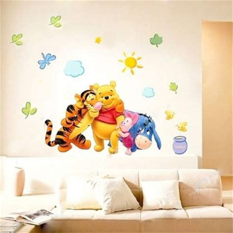 Winnie The Pooh Wall Decals For Nursery Supergirl On Artfire