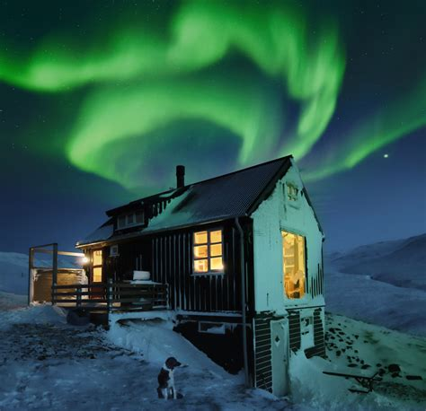 airbnb iceland northern lights secluded winter homes gling inspirations quality