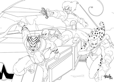 thundercats coloring pages 04