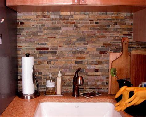 slate backsplash kitchen dining splash nature backsplash for your kitchen stylishoms kitchen