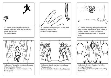 sle script storyboard story board