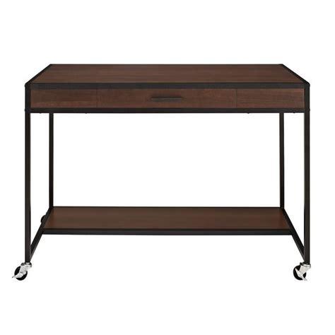Cherry Finish Desk by Mobile Desk In Cherry Finish 9834096