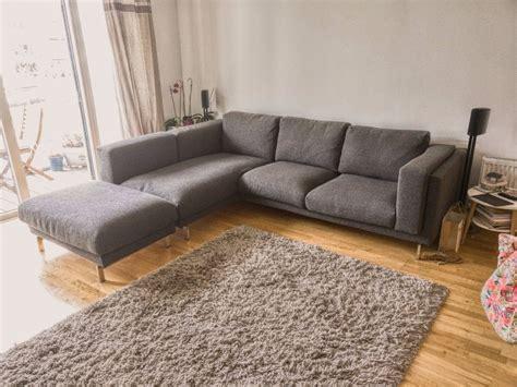 ikea nockeby sofa corner sofa chaise sofas awesome small grey corner sofa l