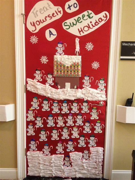 door decorating contest at work door