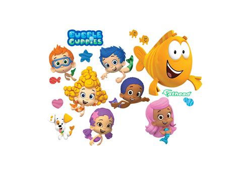 Home Decor Collection by Bubble Guppies Collection Wall Decal Shop Fathead 174 For