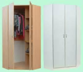 junita 2 door corner wardrobe