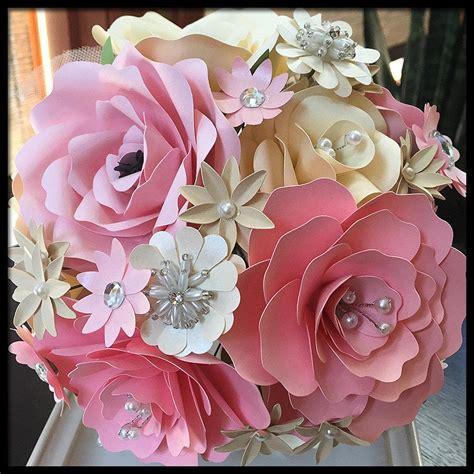 ready made bridal bouquets pink bridal bouquet wedding bouquet paper