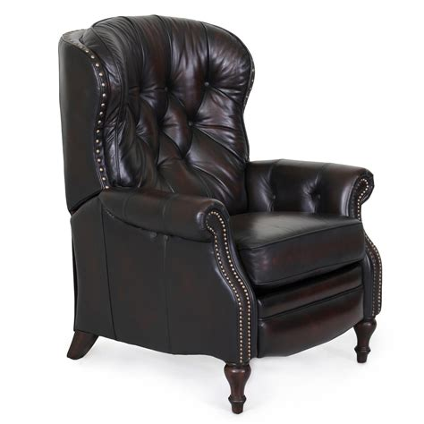 reclined chair barcalounger kendall ii recliner chair leather recliner