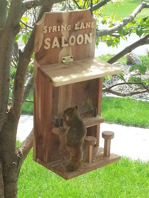 saloon bird scratch that squirrel feeder by rossc23