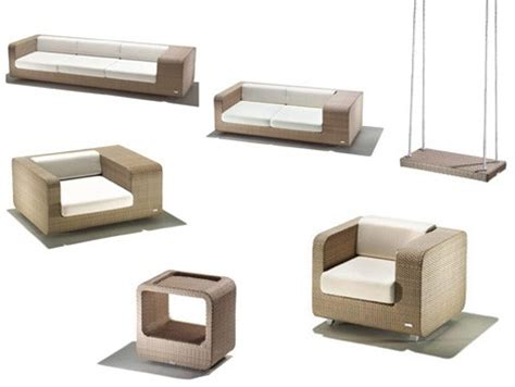 modern patio furniture set new hug patio set by