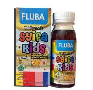 Syifa Fluba Mengatasi Flu Dan Batuk Bayi Dan Anak Anak madu anak syifa fluba flu dan batuk alzafa store