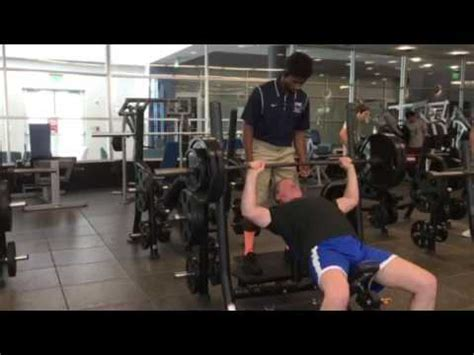 275 lb bench press 275 pounds x 7 incline bench press lifting awareness