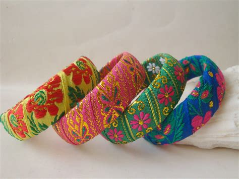 Handmade Bangles Designs - 15 creative designs for handmade bangles at home
