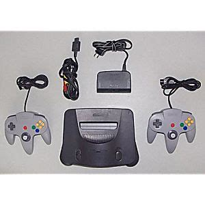 N64 Console For Sale Nintendo 64 Console Used Refurbished