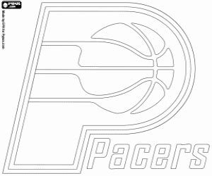 indiana pacers coloring page nba logos coloring pages printable games 2
