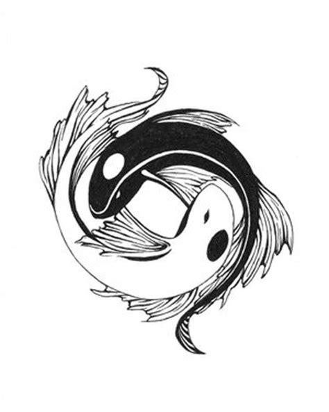 yin yang koi tattoos tattoos pisces fish tattoos design ideas