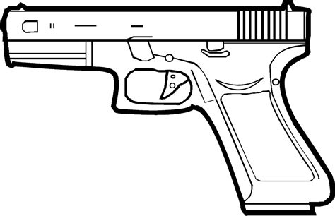 9mm Drawing by Glu Ck Clipart Clipground