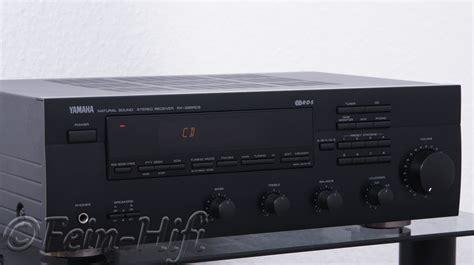phono eingang yamaha rx 395 stereo hifi verst 228 rker mit phono eingang ebay