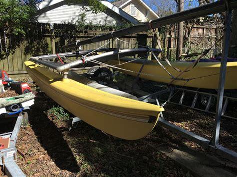catamarans for sale houston tx hobie cat 16 foot 1981 houston texas sailboat for sale