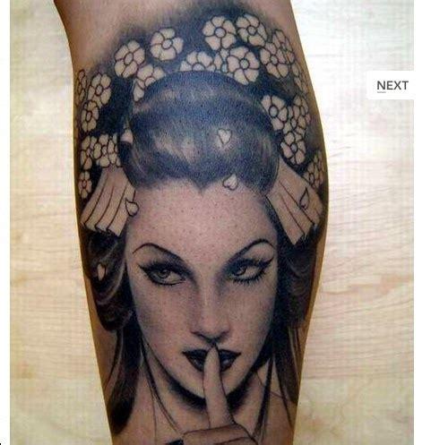tattoo gueisha sombras realismo planeta tattoo best
