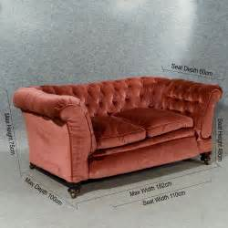 chesterfield settee for sale antique chesterfield settee period