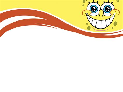spongebob powerpoint templates cartoons free ppt